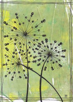 kaart 81 by JeAnToin Zentangle, Cards, Painting, Zentangle Patterns, Painting Art, Paintings, Maps, Painted Canvas, Zentangles