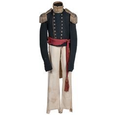 Model 1839 Infantry Officer's Uniform | Cowan's Auction House