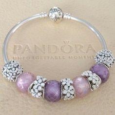 $135 for this finished pandora bangle bracelet