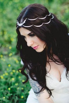 This headpiece is so gorgeous...