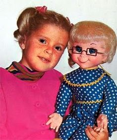 My favorite doll Mrs. Beasley and my favorite show ever Family Affair