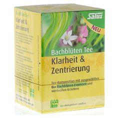 BACHBLÜTEN Tee Klarheit & Zentrierung Bio Salus 15 Stück