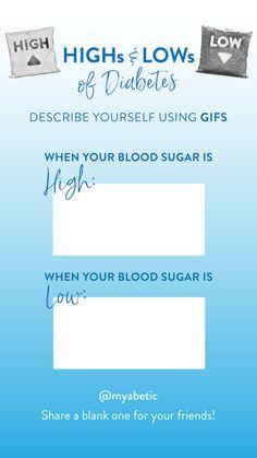 Describe yourself using GIFS Diabetes Bag, Diabetes Supplies, 24 Years Old, Describe Yourself, Are You The One, High Low, Gifs, Fun, Gifts
