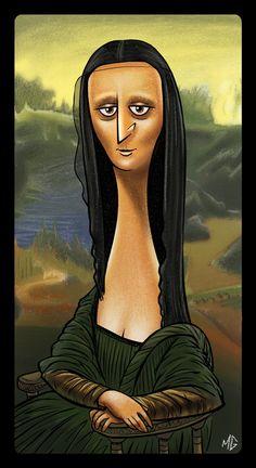 My Mona Lisa [Mark Geyer] (Gioconda / Mona Lisa)