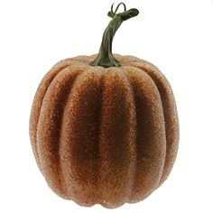 Gresorth 1 PC Halloween Decorative Yellow Acrylic Pumpkin Artificial Fake Vegetable Decoration -- You can find out more details at the link of the image.