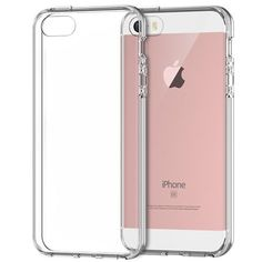 NEW! Apple iPhone SE Clear Slim Gel - Clear #iphonese #newphone #phonecase #rosegold #pink