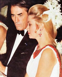 Princess Grace and her longtime friend, Gregory Peck