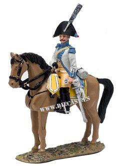 Trooper, 2nd Dutch-Belgian Cavalry Regt., 1801, 1:30, Del Prado