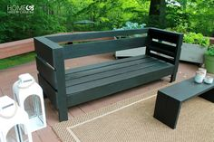 DIY Build-It-Yourself Outdoor Sofa