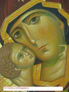 Madonna di Vladimir (scuola Bizantina) Madonna, Orthodox Icons, Sacred Art, Painting, Fictional Characters, Art History, Paint, Painting Art, Paintings