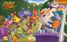 ANIMAL JAM | These neat wallpapers can be used for Bloger banners, backgrounds ...