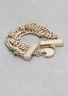 Chain bracelet  & Other Stories