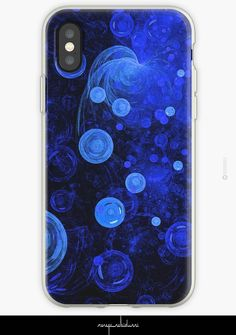 'Ocean Gems' Abstract Phone Case by Menega Sabidussi @redbubble | #cool #design #cases #iphonecases #tech #redbubble