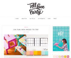 Blog F de Fifi: manualidades, imprimibles y decoración: Inspiración: 5 blogs increíbles de DIY & Fiestas