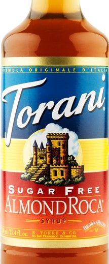 Sugar Free Almond Roca Torani Syrup