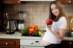 Fat burning diet - Eat well when you're pregnant