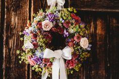 Photo credit: Matthieu Lenz Wedding Planner, Destination Wedding, Wedding Venues, Wedding Day, Photo Credit, Getting Married, Floral Wreath, Mountain, Wreaths