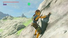 Zelda: Breath of the Wild cut idea involved stabbing your sword into the cliffside to rest/regain stamina