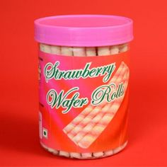 Best Strawberry Wafer Rolls Recipe on Pinterest