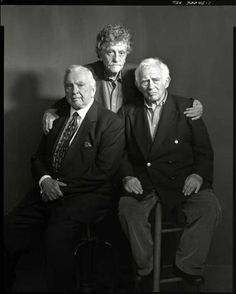 The Lions in Repose: (From l to r) Gore Vidal, Kurt Vonnegut and Norman Mailer: