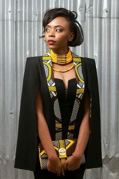 From Cape Dress To Cloak Dress; A Fashion That Will Rock African Fashion Lovers In 2016 - Women's style: Patterns of sustainability African Inspired Fashion, African Print Fashion, Africa Fashion, Fashion Prints, Modern African Fashion, African Print Dresses, African Fashion Dresses, African Prints, Modern African Dresses