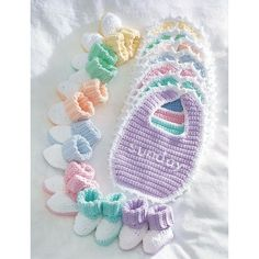 Free Easy Baby's Accessory Crochet Pattern