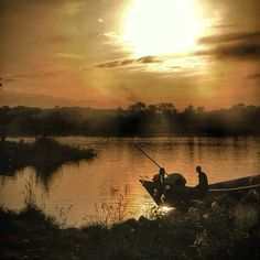 Sunrise on the Volta River in Ghana. #freetownmovie #indiefilm #africafilm #Ghana - From @madmard