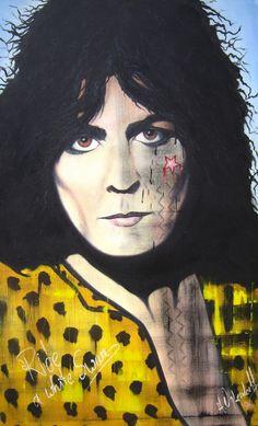 Marc Bolan (T. Rex, git, voc.) * 30.09.1947 – † 11.09.1977