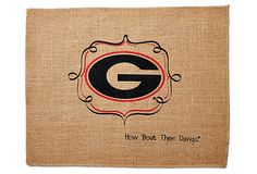 Check out the Glory Days Sale at One Kings Lane!   S/4 UGA Place Mats on OneKingsLane.com