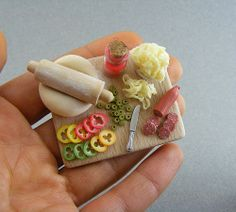 Pizza Preparation Board by Shay Aaron, via Flickr