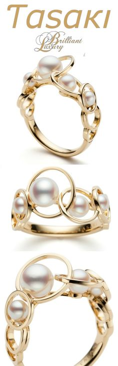 Brilliant Luxury * Invitinga Enima Ring // Tasaki