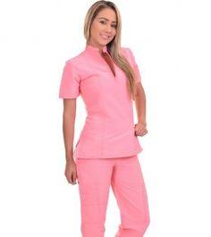Beautiful Nurse, Beauty Salon Decor, Uniform Design, Salon Design, Fashion Show, Fashion Design, Scrubs, Peplum Dress, Spa