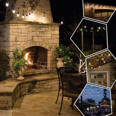 Patio Lighting, Accent Lighting, Led String Lights, Home Accents, Christmas Lights, Indoor Outdoor, Pergola, Balcony Deck, Deck Patio
