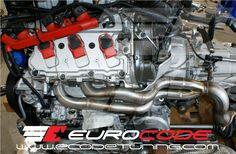 EuroCode Tuning Long Tube Headers Audi S4 3.0T
