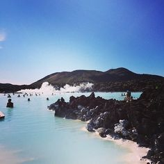 Summer, welcome to Blue Lagoon! #Iceland #BlueLagoon