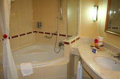 Bathroom at Laguna Azul Varadero, Cuba Hotels, Wedding Locations, Corner Bathtub, Trip Advisor, Bathroom, Blue Nails, Travel, Washroom