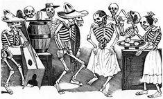 ❁☠❀ Dia de Los Muertos  ❀☠❁ Posada's jarabe tapatio