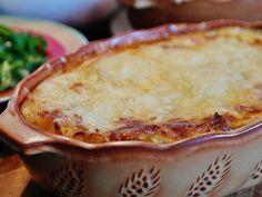 This copycat lasagna is loaded with Fontina, Mozzarella, Ricotta, Parmesan and Romano cheeses  | CDKitchen.com