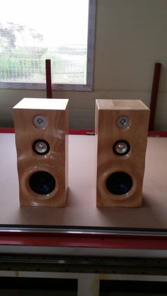 Maked my own speaker with CNC