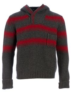 ANNAPURNA - Striped knitted sweater
