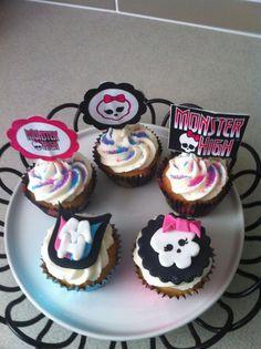 Monster high, the new teenage craze! Monster High, Polka Dots, Snow, Desserts, Tailgate Desserts, Deserts, Dessert, Human Eye, Food Deserts