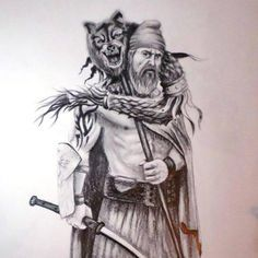 lupul dacic - Google Search Vlad The Impaler, Grayscale Image, Warrior Tattoos, Wood Carving Patterns, Epic Art, Tatoos, Ink, Drawings, Wolf