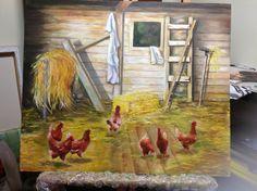 Paiol e galinhas - agosto 2013