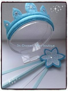 Elsa crown and wand set £10 posted