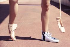 DIY Shoes : DIY Project: Dancing with sneakers