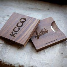 KCCO Beer Bottle Opener Coasters
