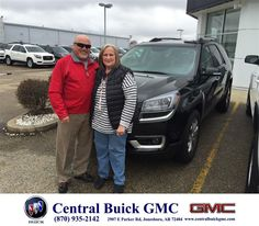 https://flic.kr/p/F4Rh6W | Happy Anniversary to Rick & Rayanne on your #GMC #Acadia from Justin Duckert at Central Buick GMC! | deliverymaxx.com/DealerReviews.aspx?DealerCode=GHWO