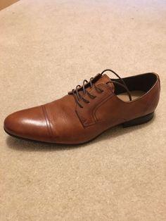 e6532d797e0 (ebay link) Mens Brown Leather Dress Shoes - Size 11  fashion  clothing