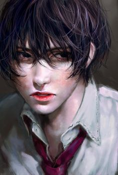 Find images and videos about black, cool and anime on We Heart It - the app to get lost in what you love. M Anime, Anime Art, Boy Art, Art Girl, Character Inspiration, Character Art, Photographie Portrait Inspiration, Boy Illustration, Handsome Anime Guys