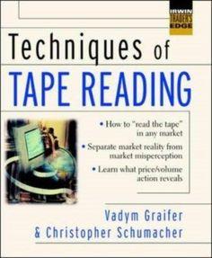 Techniques of Tape Reading 9780071414906, HardCover, BRAND NEW http://traderlinkup.com